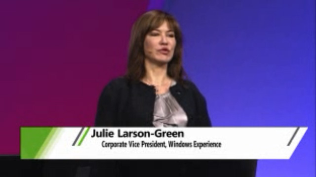 julie larson-green at build