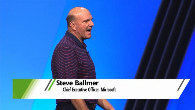 Steve Ballmer scary at BUILD