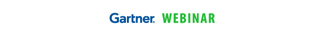 Gartner logo Webinar
