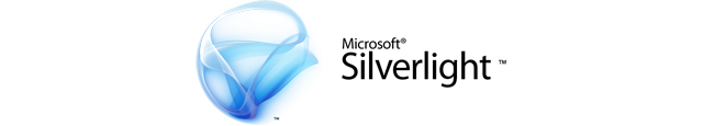 Microsoft Silverlight logo horizontal