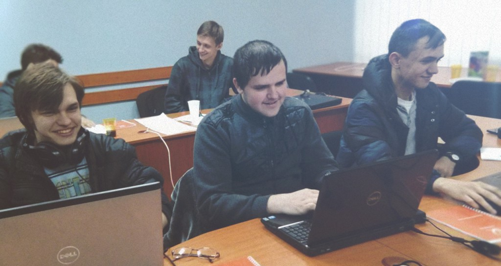 Ukrainian programmers at IEEEXtreme programming competition