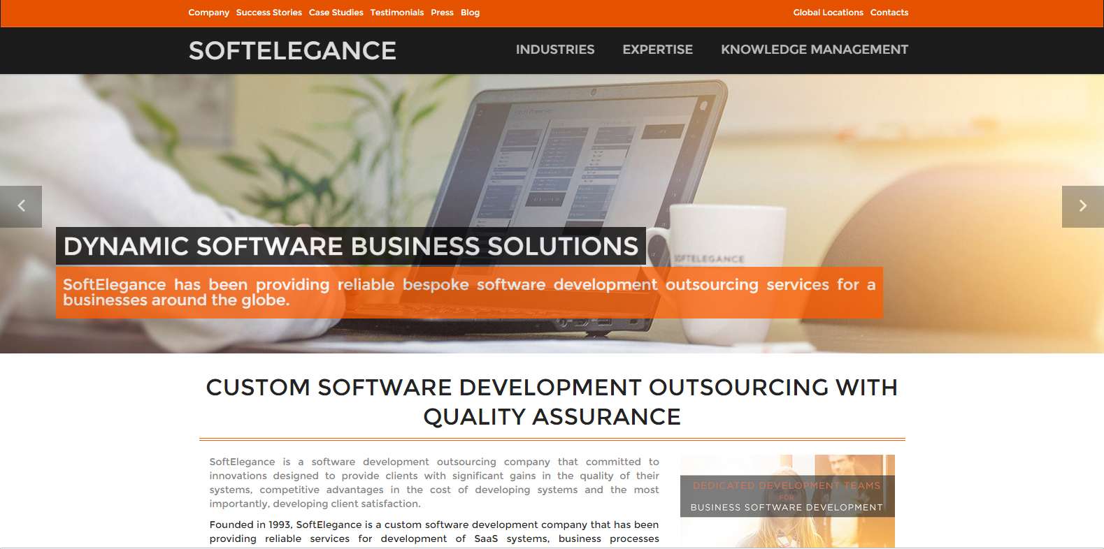 custom software development outsourcing with quality assurance