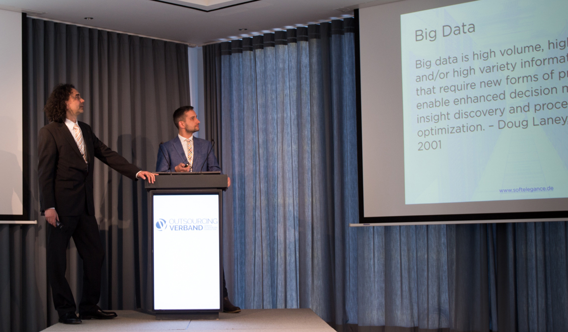 SoftElegance Big Data at Outsourcing Association