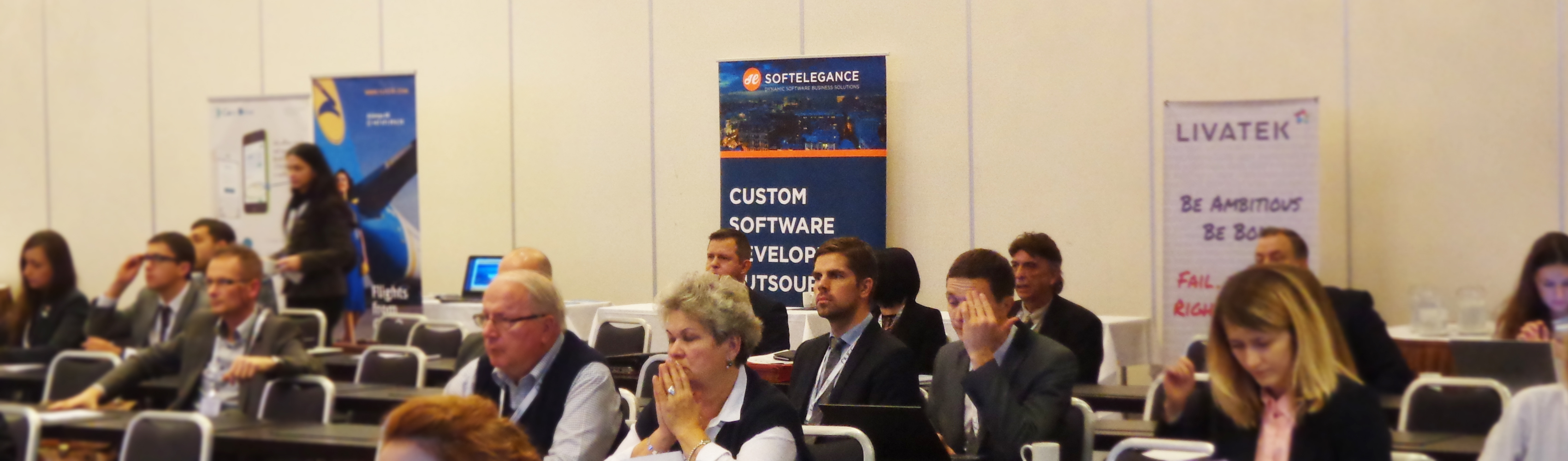 SoftElegance at Norwegian-Ukrainian ICT Conference